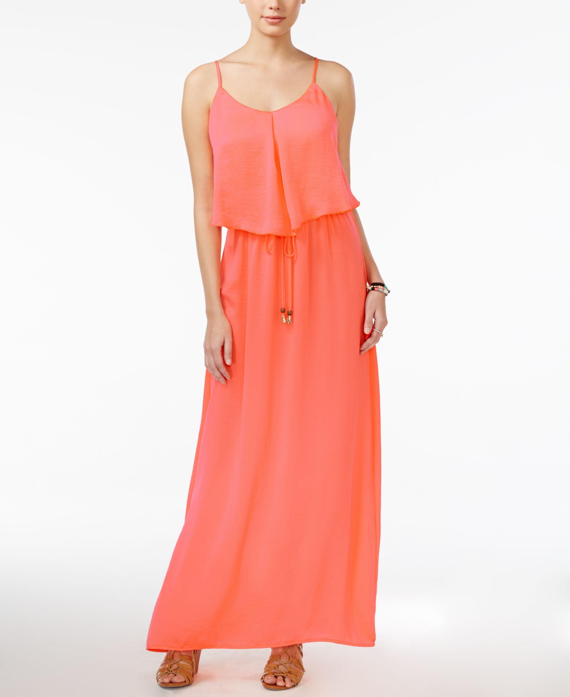 City studiosu juniorsu sleeveless popover maxi dress products