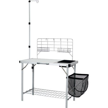 Elegant Buy Ozark Trail Portable Camp Kitchen And Sink Table At Walmart.com   Free  Shipping