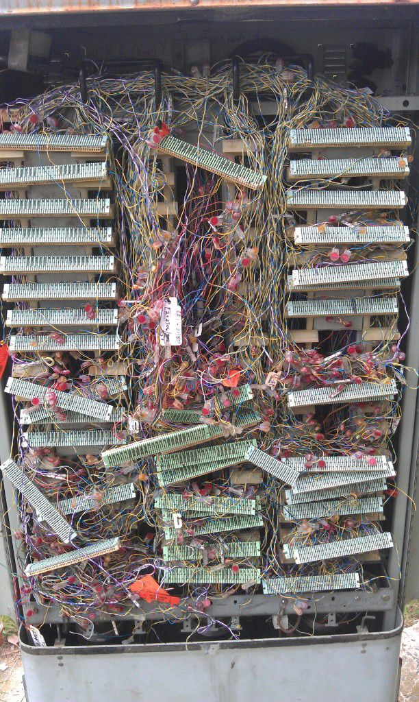 This Is What It Looks Like Inside The Average Telecom Box