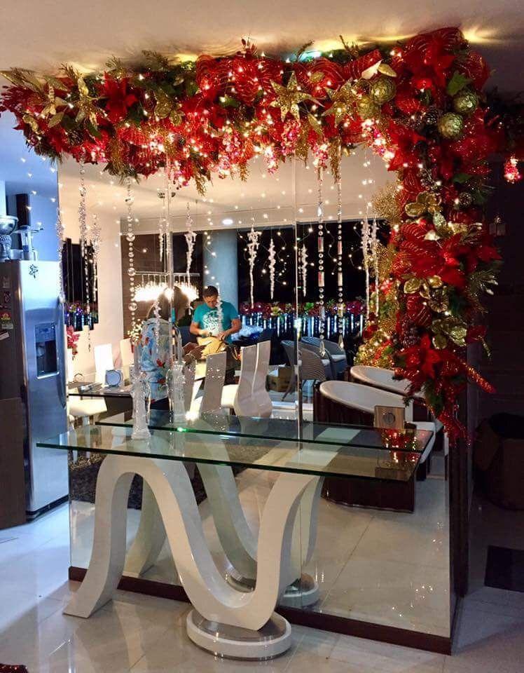 Decoraciones diy y manualidades manualidades navidad for Decoracion de navidad para ventanas y puertas