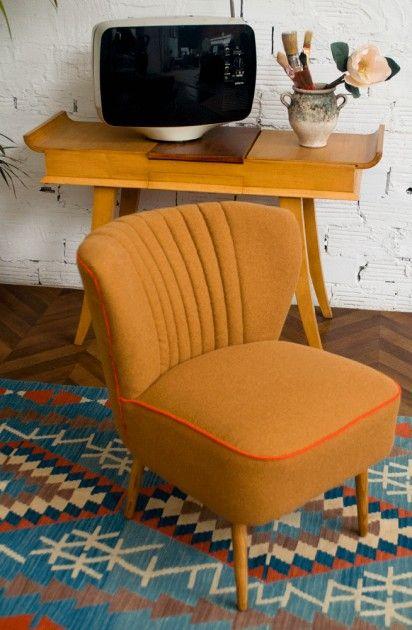 Petit fauteuil fauteuil cocktail fauteuil salon vintage années