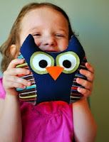 Tutorial on Making a Stuffed Owl