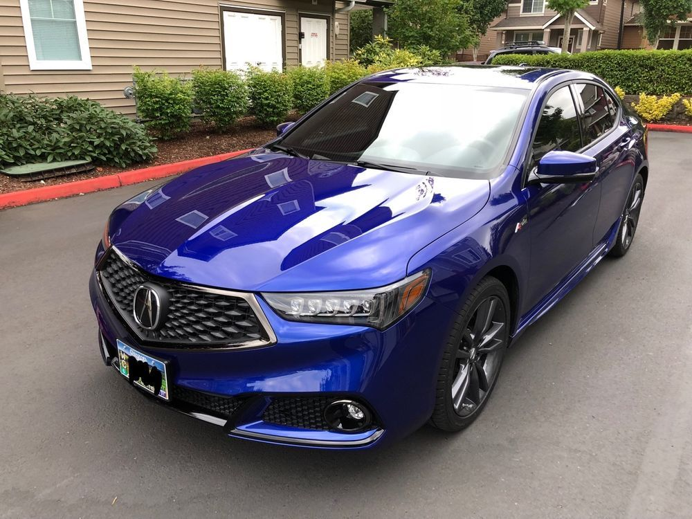 2018 Acura Tlx A Spec 2018 Acura Tlx A Spec Sh Awd Still Night Pearl Immaculate Oem Accessories Acura Tlx Acura Awd