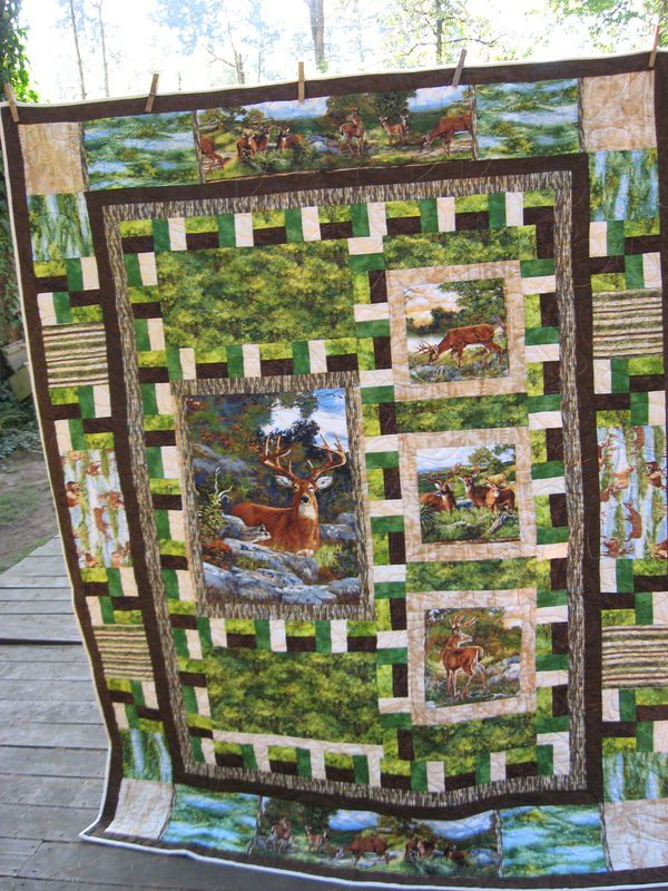 hunting fabric for quilting | Name: Attachment-125765.jpeViews ... : wildlife quilt fabric - Adamdwight.com