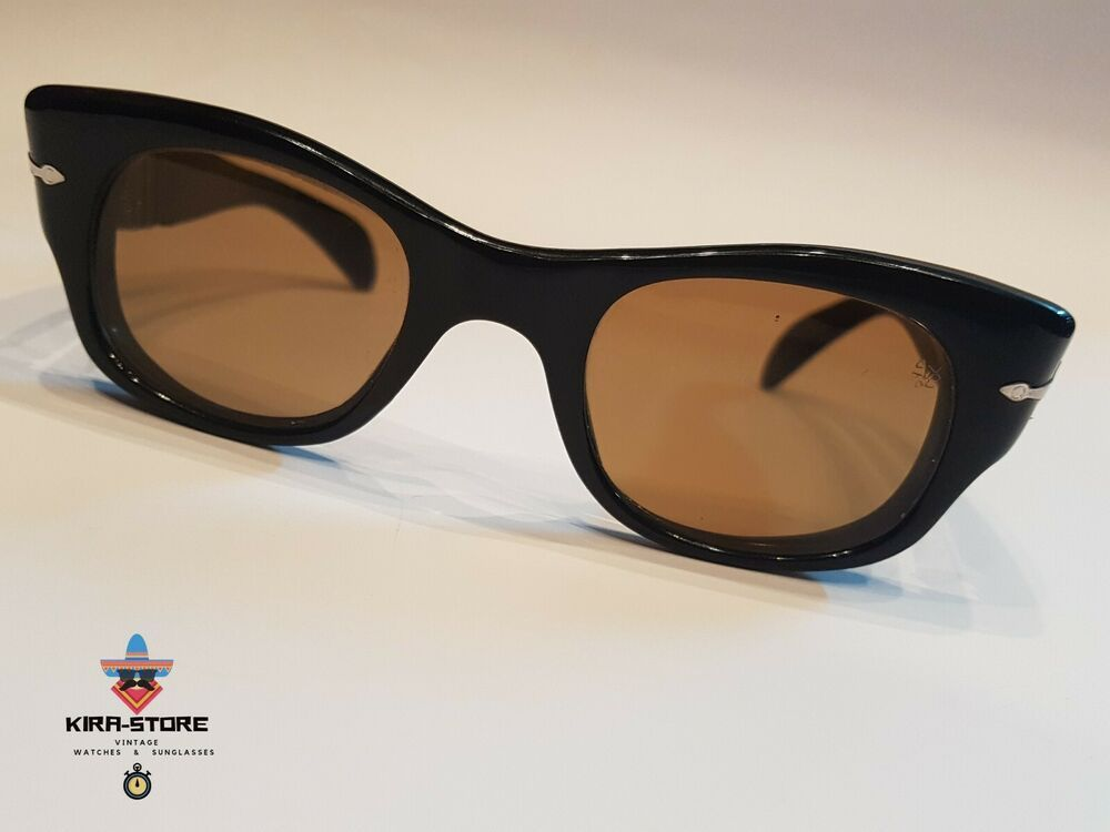 5f09e7244e620 PERSOL RATTI 6182 Meflecto Sunglasses Massive Vintage Frame Eyeglasse 60 S   PERSOL  Vintage