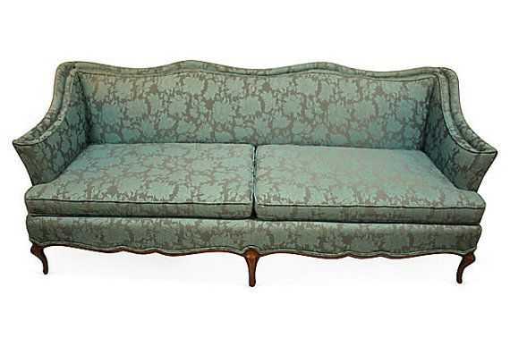 Vintage 1960s French Sofa By TheSilverOyster On Etsy. $320