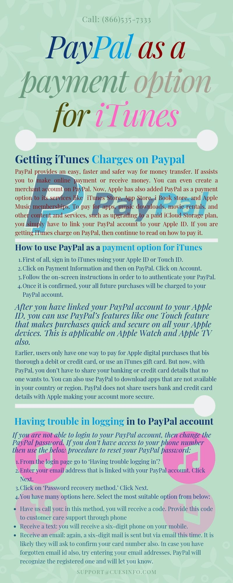 How to use PayPal as a payment option for iTunes