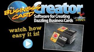 The business card creator by laughingbird software graphics the business card creator by laughingbird software reheart Images