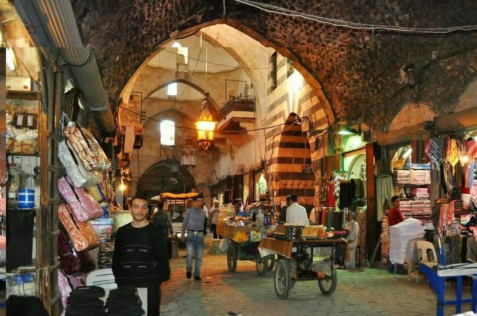 old Souq el Madenah. #Aleppo-Syria
