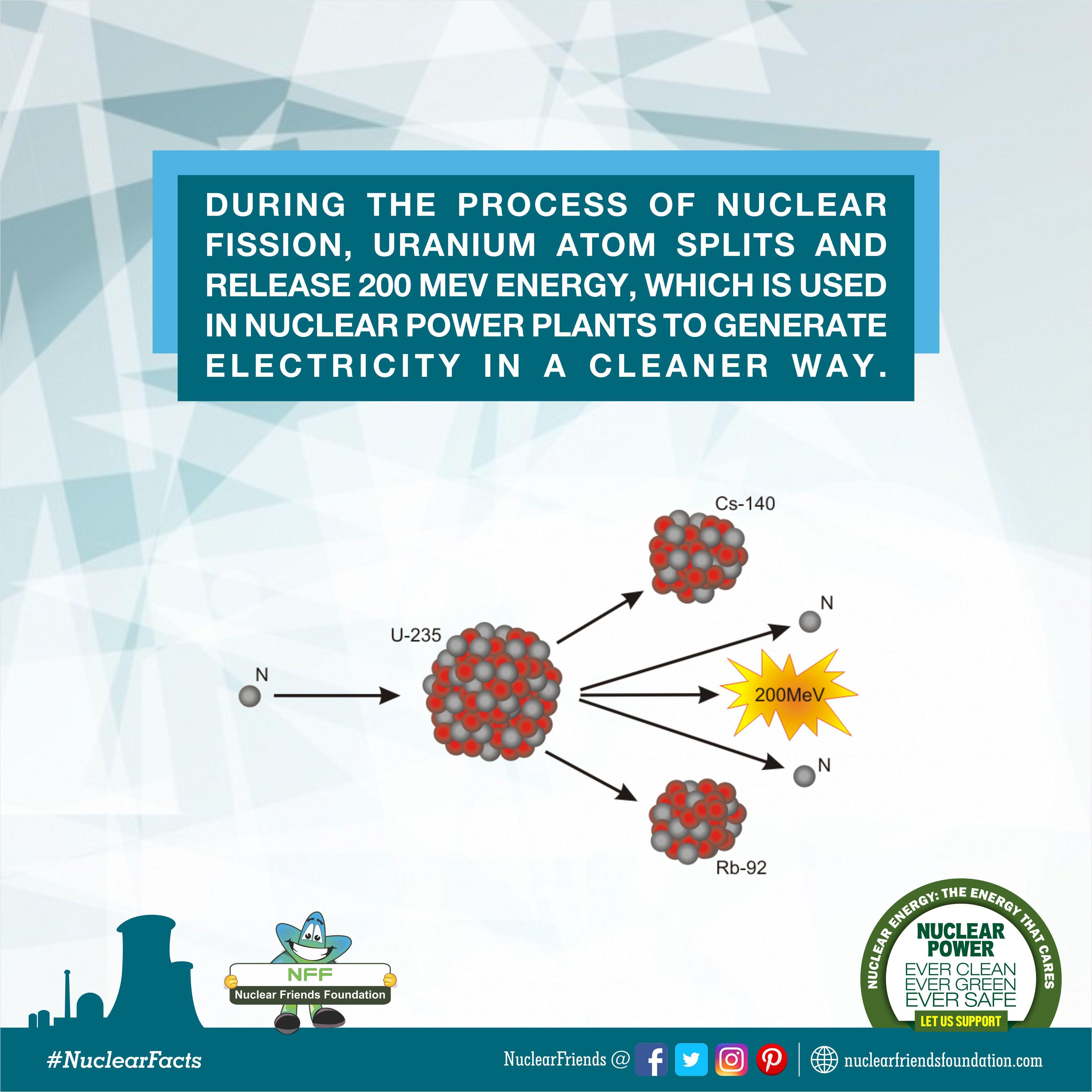 Nuclear Fact Nuclear Power Plant Nuclear Energy Energy Projects