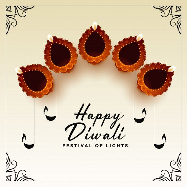 Download Happy Diwali Festival Card for free