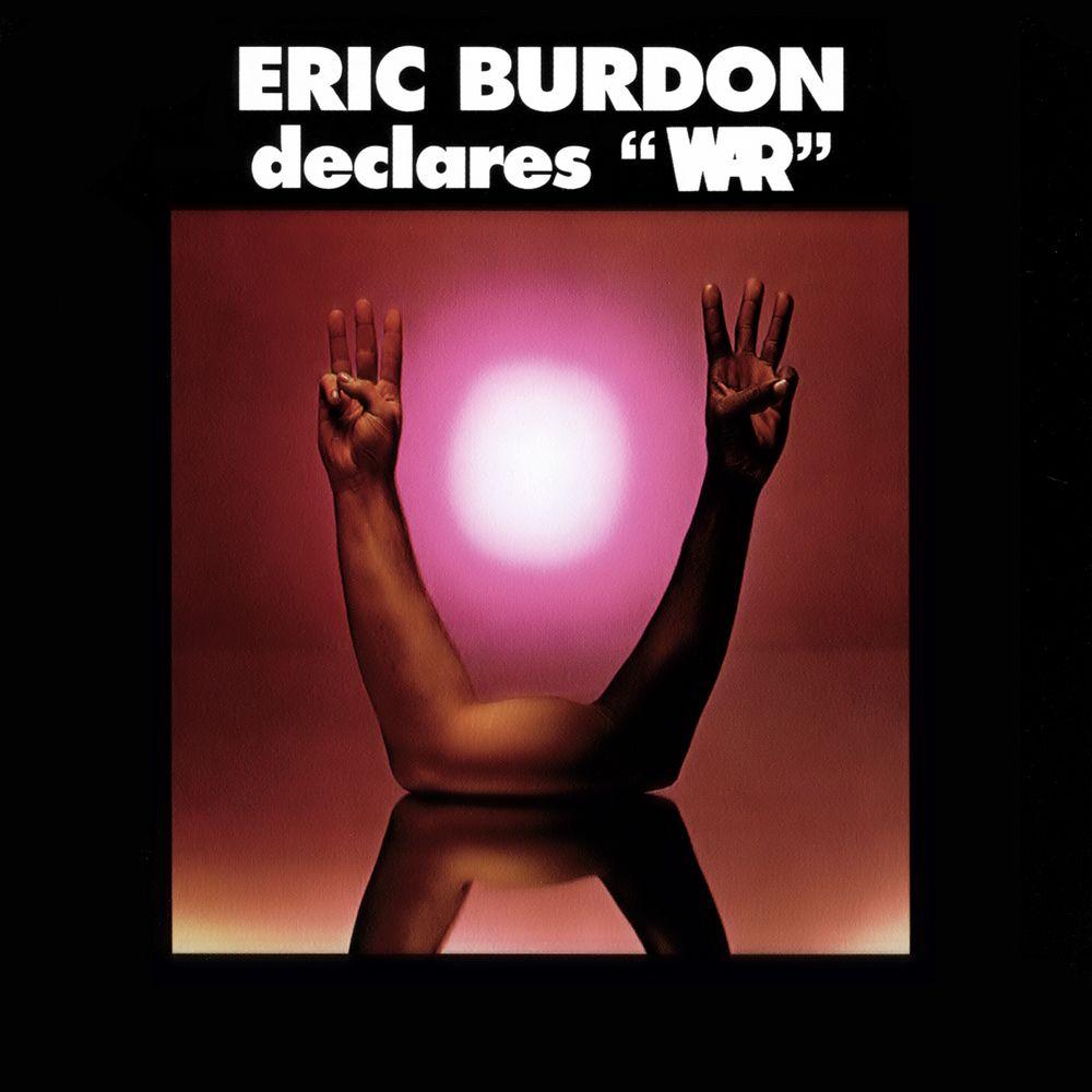 Eric Burdon War Eric Burdon Declares War 1970 Eric Burdon Music Album Covers Rock Album Covers