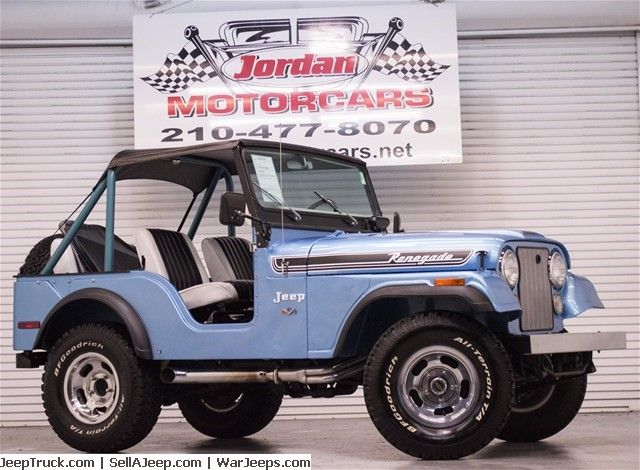 1973 Cj 5 Renegade Absolutely Gorgeous Restored Renegade Ii Fresh Paint And A Solid Rust Free Body Correct Alloy Wheels Jeep Renegade Jeep Cj Classic Jeeps