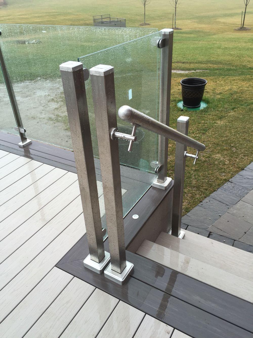 Stainless steel vertical handrail #balustrade #eskatt ...