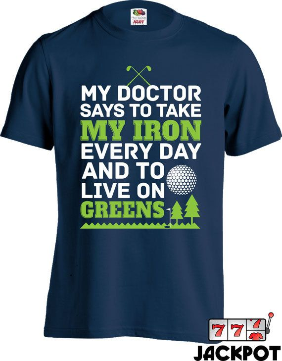 Funny Golf T Shirt Golfing Dad T Shirt Fathers Day Golf Gifts For Men Sport T Shirt Gifts For Dad Sports Humor Fitness Tshirt Men Tee MD-482 #golfhumor