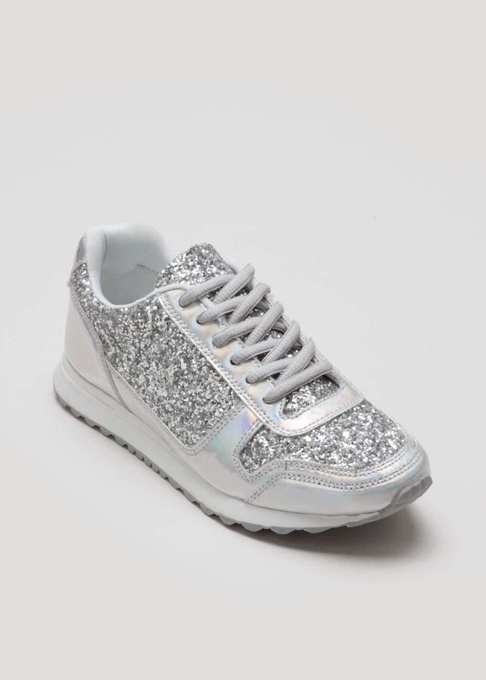 Matalan | Silver trainers