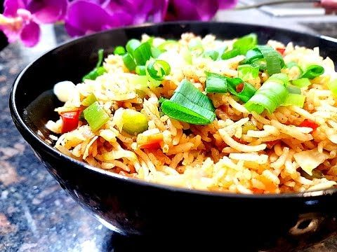 Restaurant style vegetable fried rice recipe how to make indian indian chinese fried rice is one of the most popular fried rice recipes in the world in this video i share how to make restaurant style veg fried rice forumfinder Choice Image