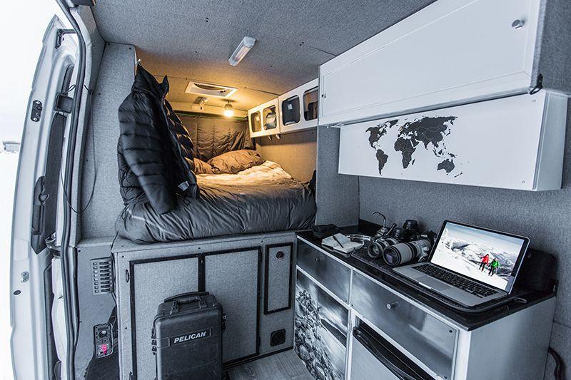 Travel Photographer Mathieu Dupuis His DIY Sprinter Van