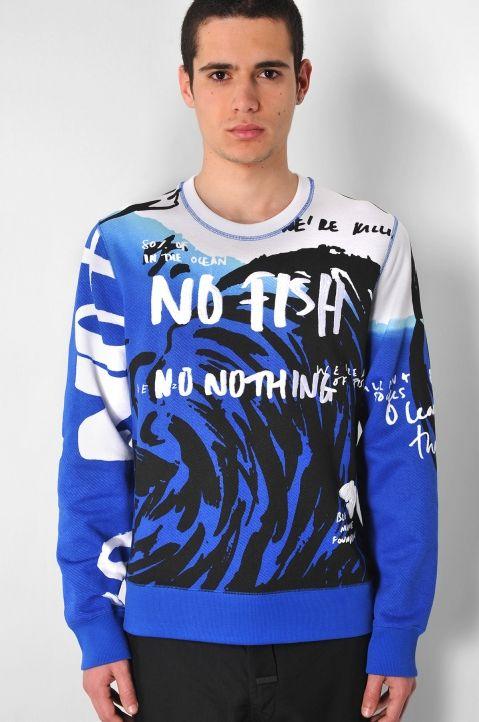 Nothing SweatshirtTops No Sweatshirts Fish Kenzo eE29YWDHI