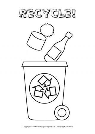 Recycle Glass Coloring Pages Recycle Coloring Pages Coloring