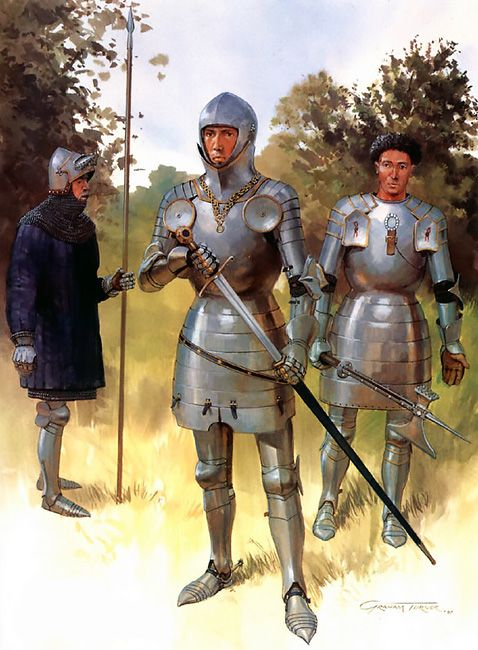 """""""Early Lances: • 14th century lance • Thomas Montague, Earl of Salisbury • John Leventhorpe, Receiver of the Duchy of Lancaster"""", Graham Turner"""