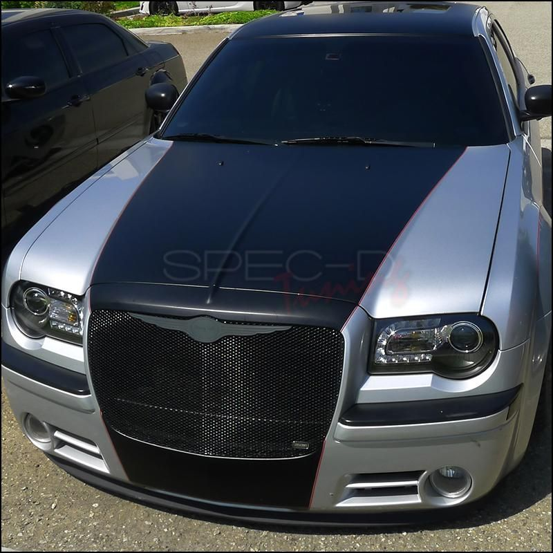 Spec D Projector Headlights Chrysler 300c Led 2005 2010 Black