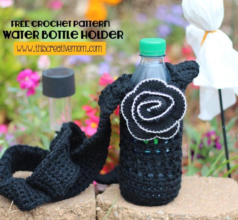 Water bottle holder crafts misc crochet items pinterest water bottle holder dt1010fo