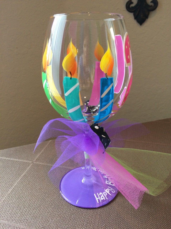 21st birthday wine glass birthday wine glass 21
