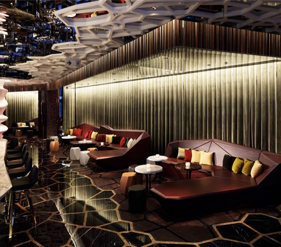 Wonderwall Have Designed The Interiors For Ozone Bar Located On Floor Of New Ritz Carlton Hong Kong
