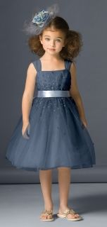 07d2a6199 Seahorse Style 46231 Flower Girl Dress in Navy Blue | Forty Shades ...