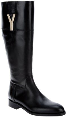 0ad360e1a80 ShopStyle: Yves Saint Laurent 'Chyc' boot | Boots