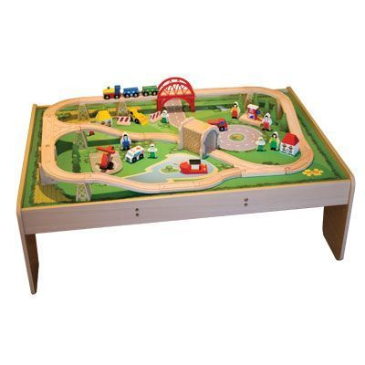 Train set table by Bigjigs. Available locally from Mimi & Jojo (R1 ...