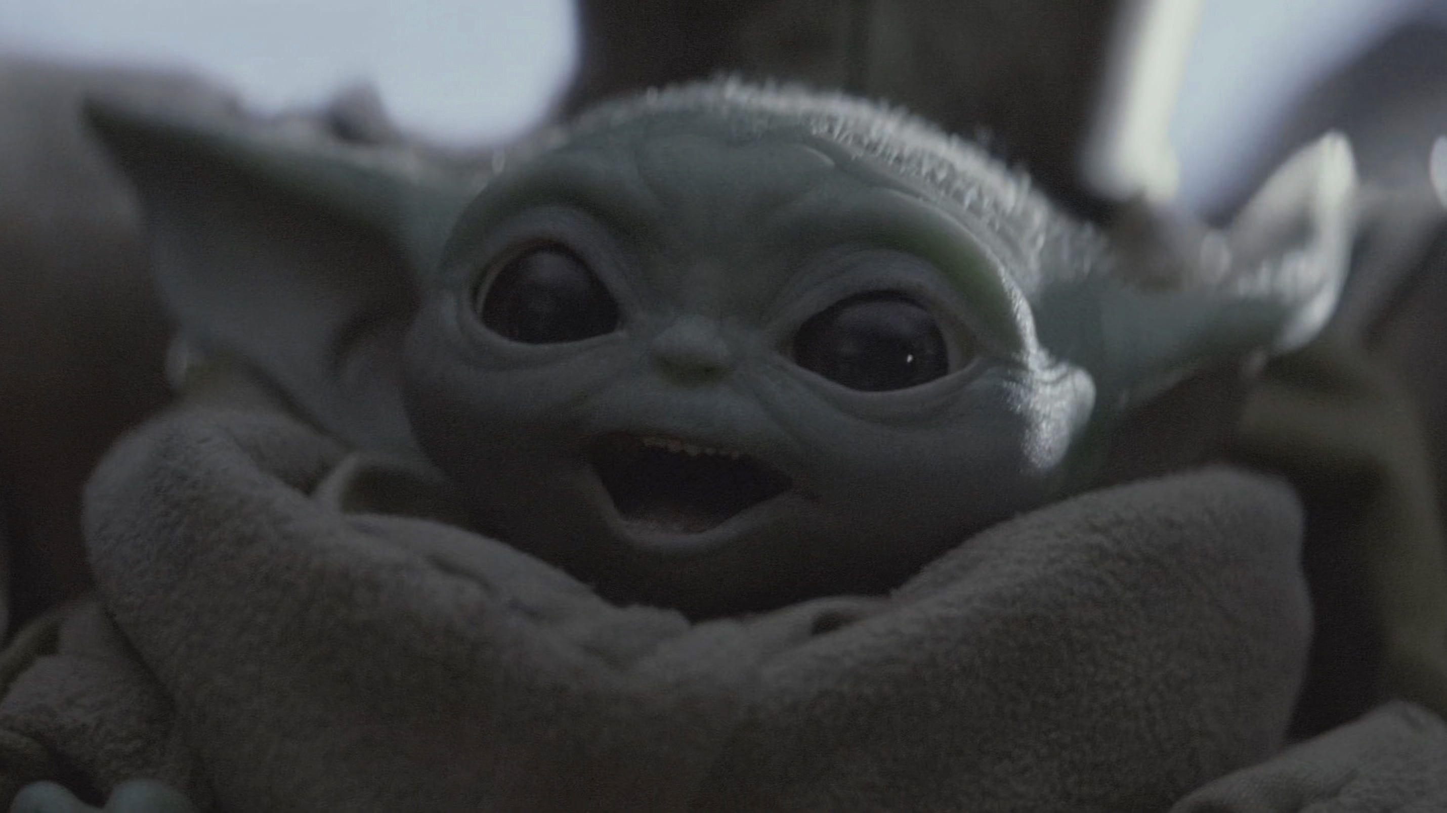 Baby Yoda Computer Wallpaper Http Wallpapersalbum Com Baby Yoda Computer Wallpaper Html Yoda Meme Star Wars Baby Star Wars Memes
