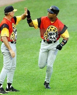 2d1fe318b7b The 50 Worst Fashion Statements in MLB History. Pirates Turn Ahead the  Clock jersey (1999)