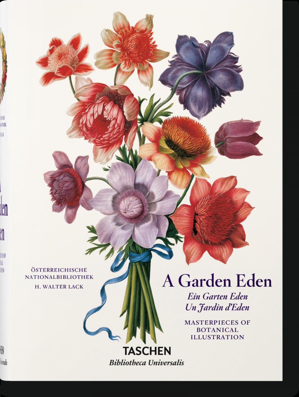 A Garden Eden Masterpieces Of Botanical Illustration Bibliotheca Universalis Taschen Books Botanical Illustration Garden Illustration Botanical