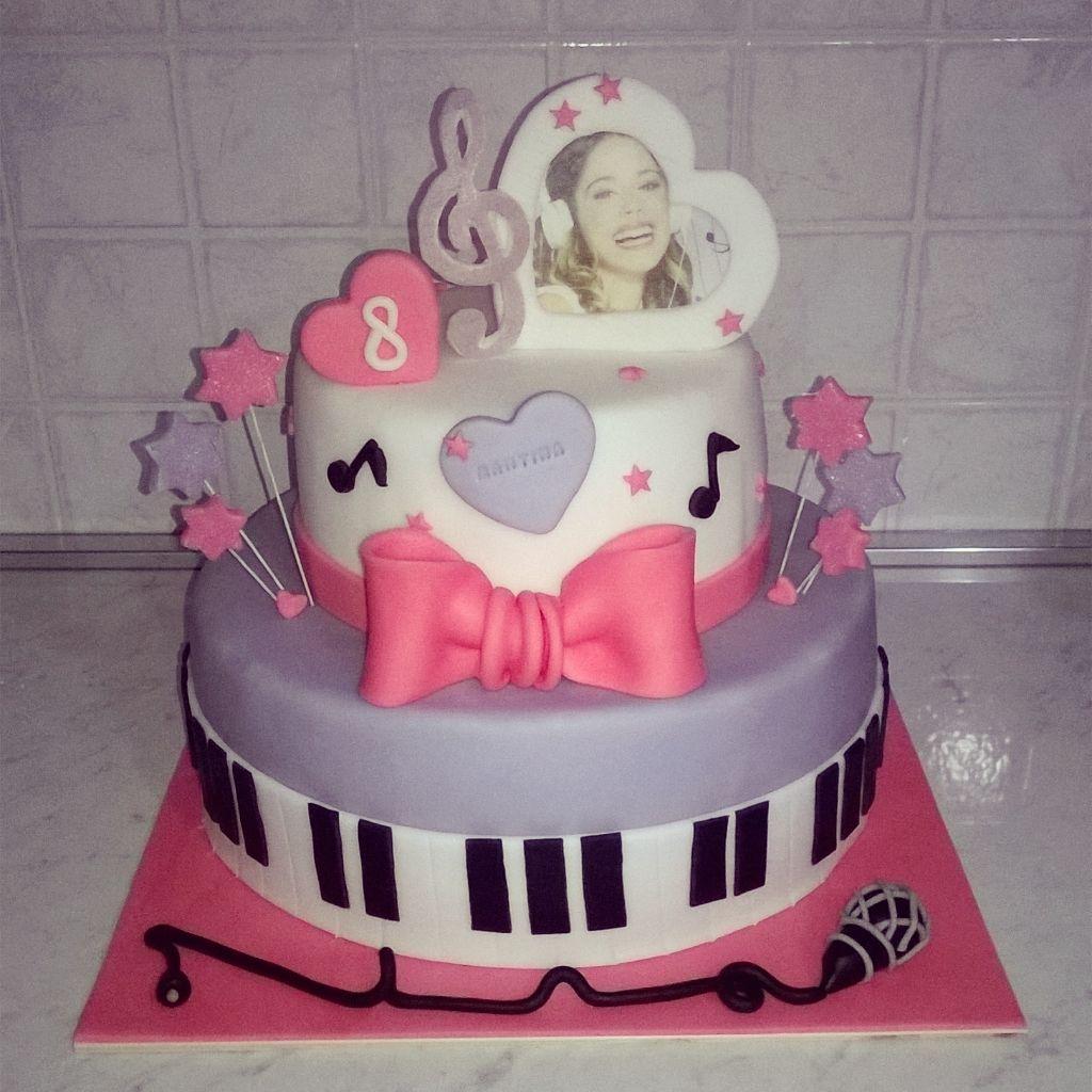 Violetta torta cake Torte in pasta di zucchero Pinterest Cake