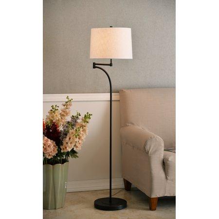 Seven Oil Rubbed Bronze Floor Lamp Size 14 Inch X 59 Inch