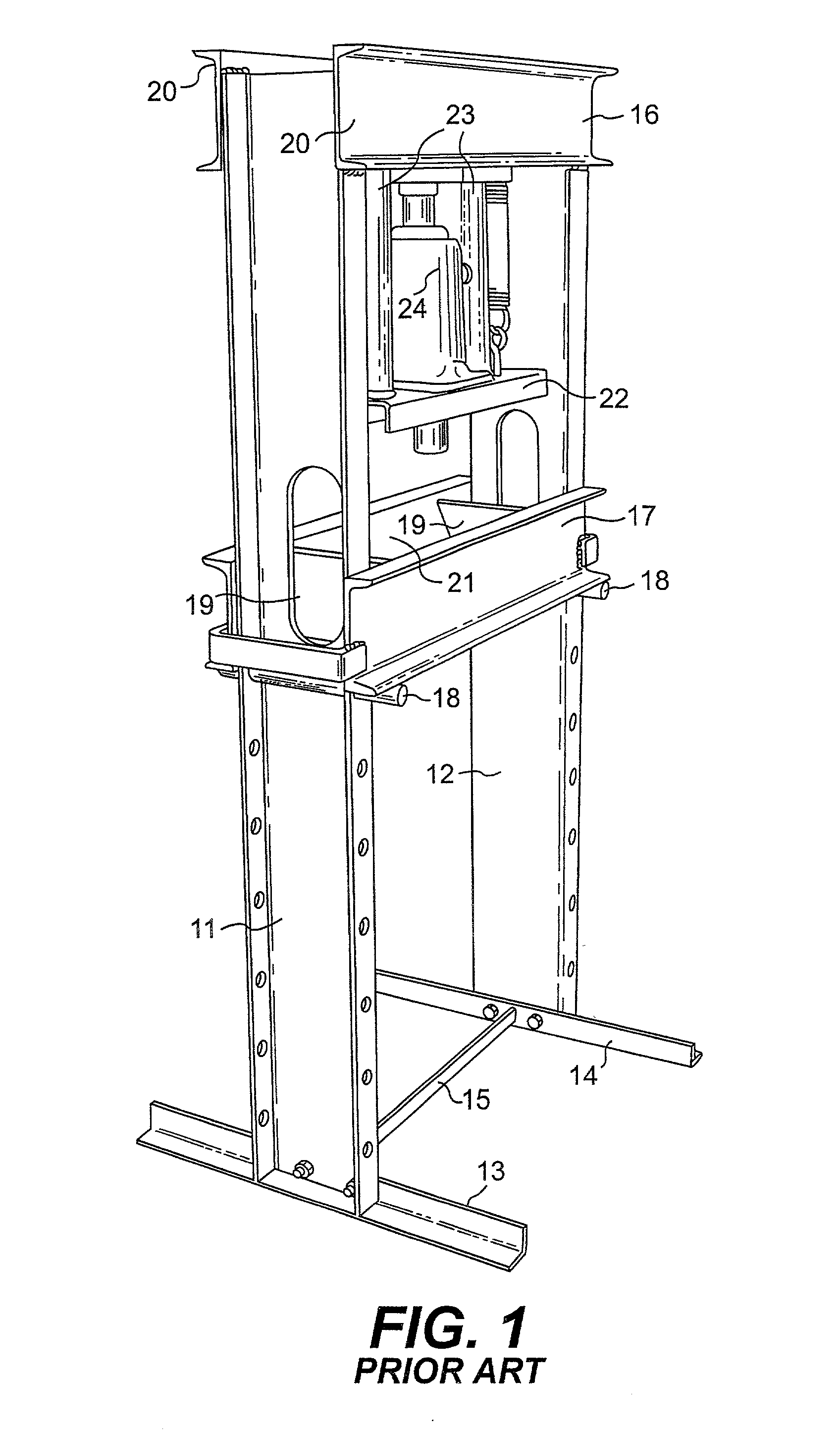 hight resolution of patente us20020046661 hydraulic press google patentes