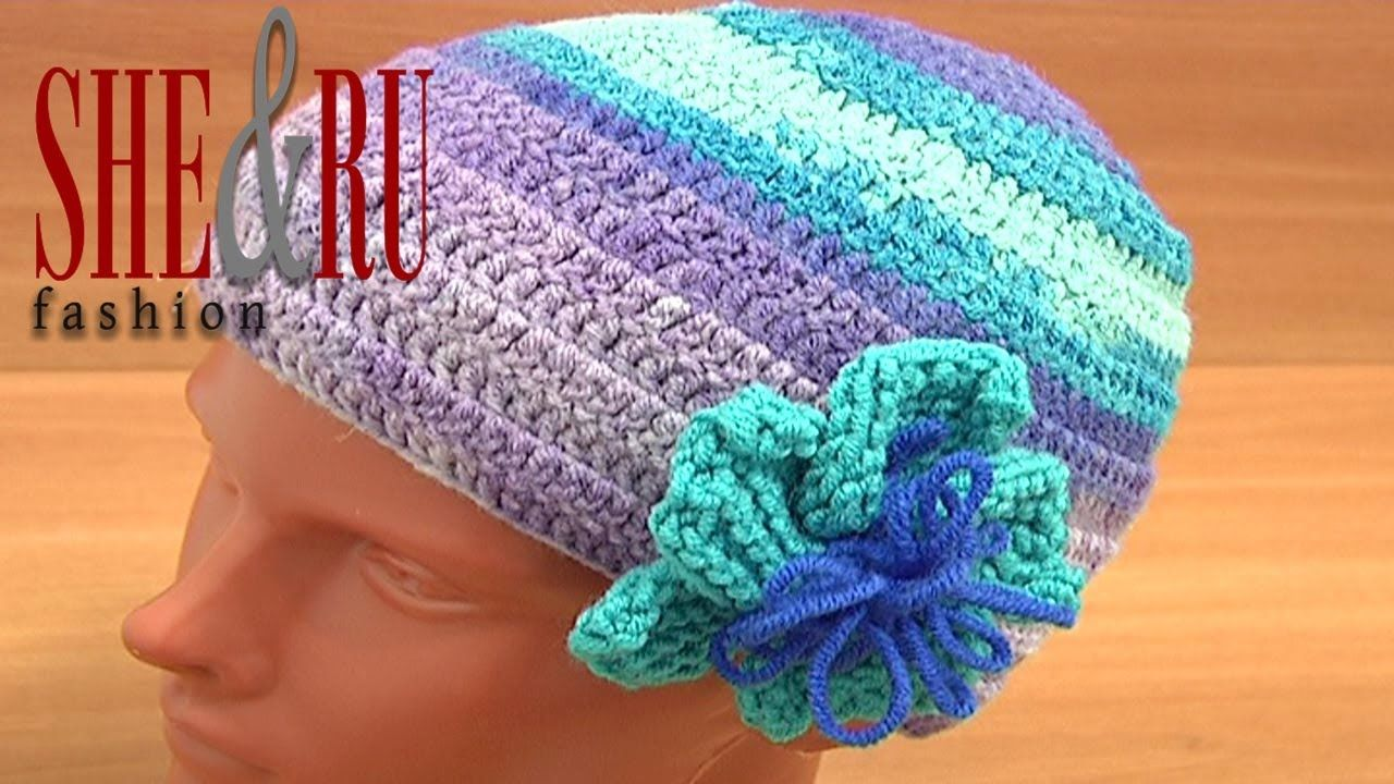 Crochet hat pattern for beginners tutorial 2 part 2 of 3 you tube fast and fun to crochet hat pattern free crochet hat video tutorial crochet hat for women kids this crochet hat pattern is beginner friendly baditri Image collections