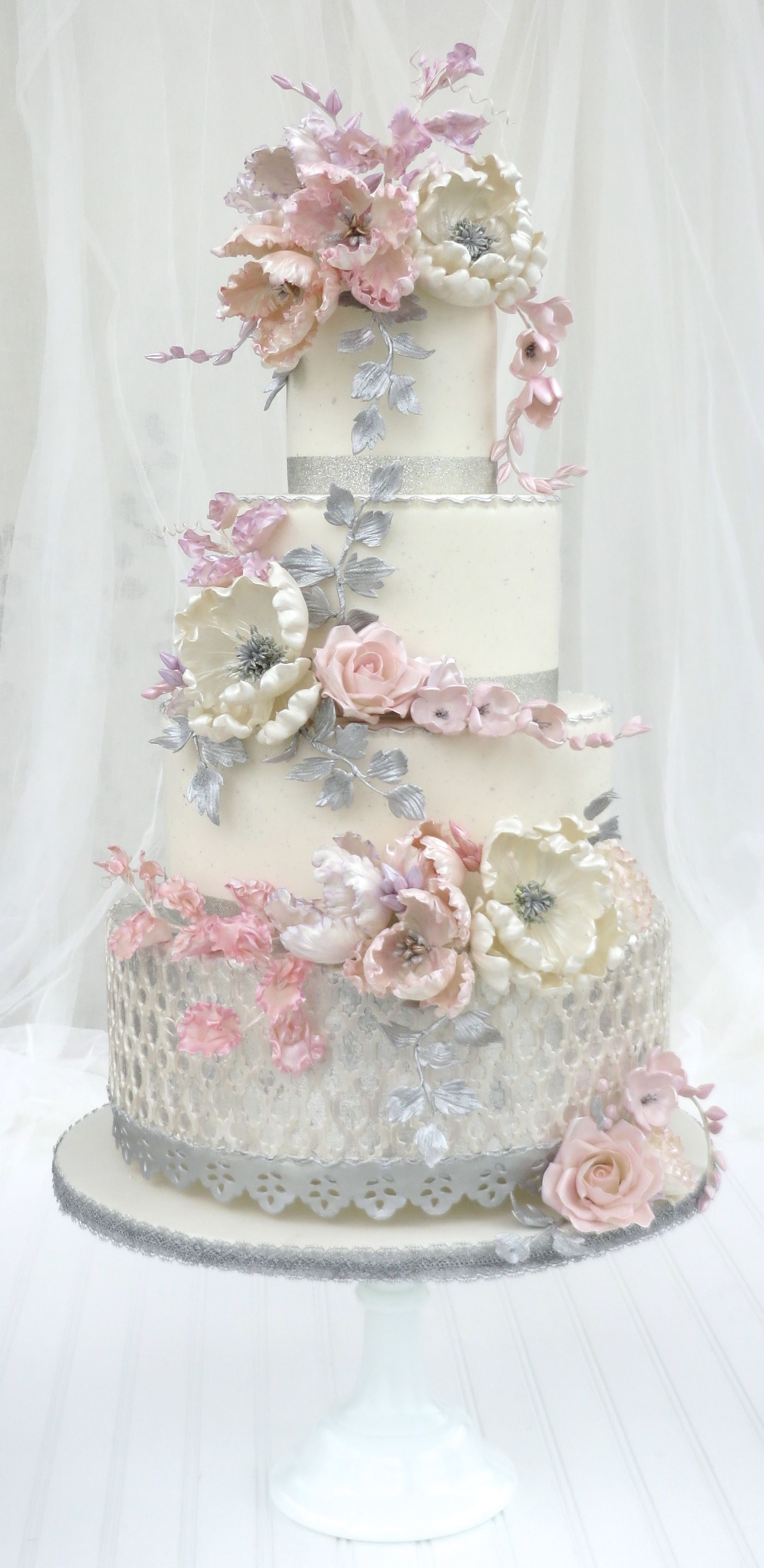 As seen in Wedding Bells Magazine prettiest cakes in Canada 2014 ...