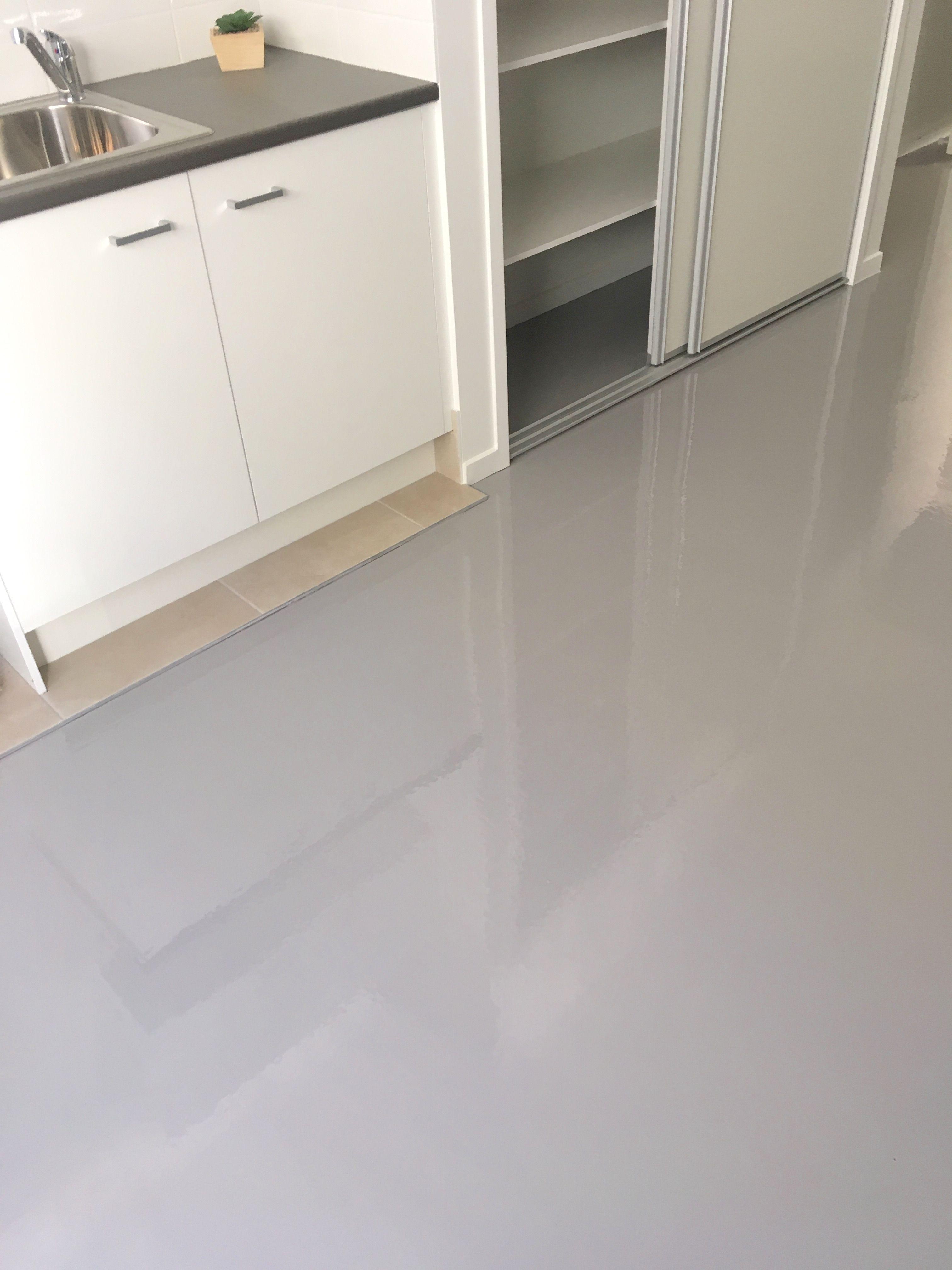 Moffat Beach epoxy flooring by The Garage Floor Co