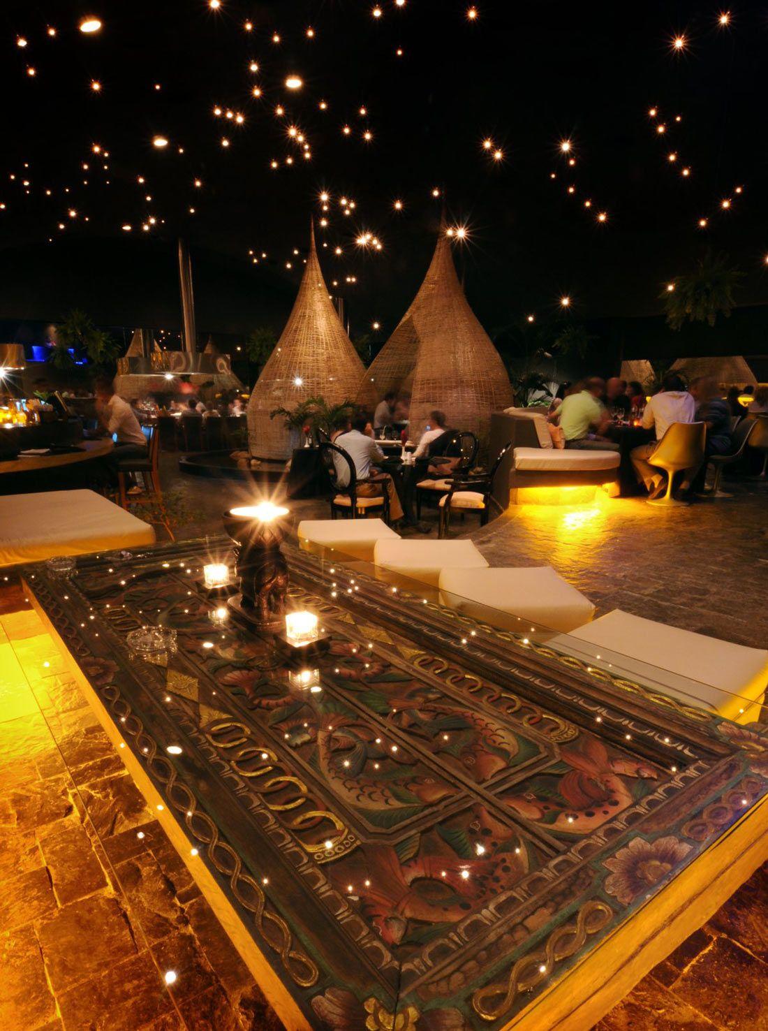 Mesa Tallada Comedor Cabanas Restaurante Jardin Del Asia Santa Cruz De La