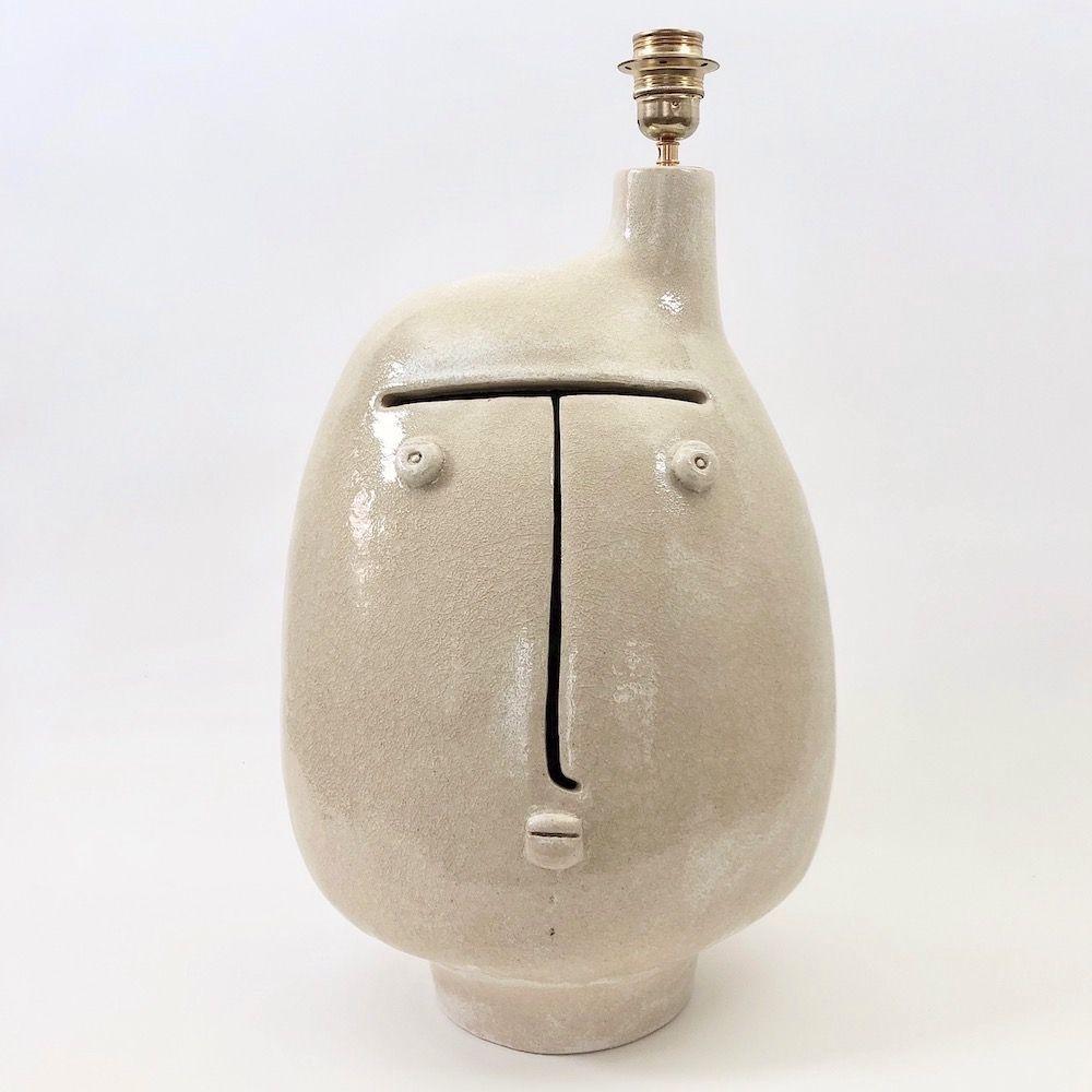 DaLo - Large beige lamp base en 2020   Lampe en céramique, Céramique émaillée, Lampe sur pied
