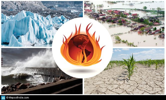 Global Warming And Its Implications For India  India  Global  Global Warming And Its Implications For India