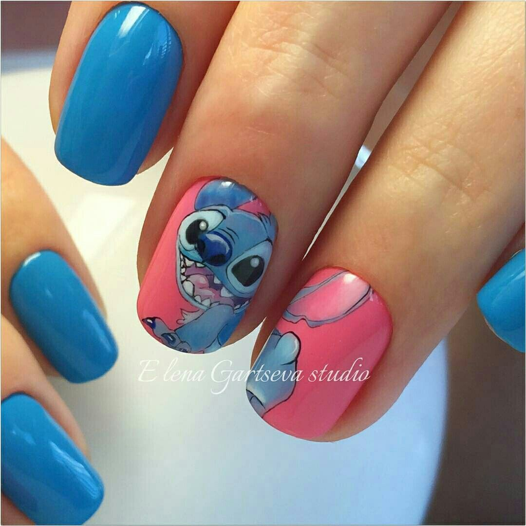 Pin von Claudia Guisao auf Disney nailart   Pinterest