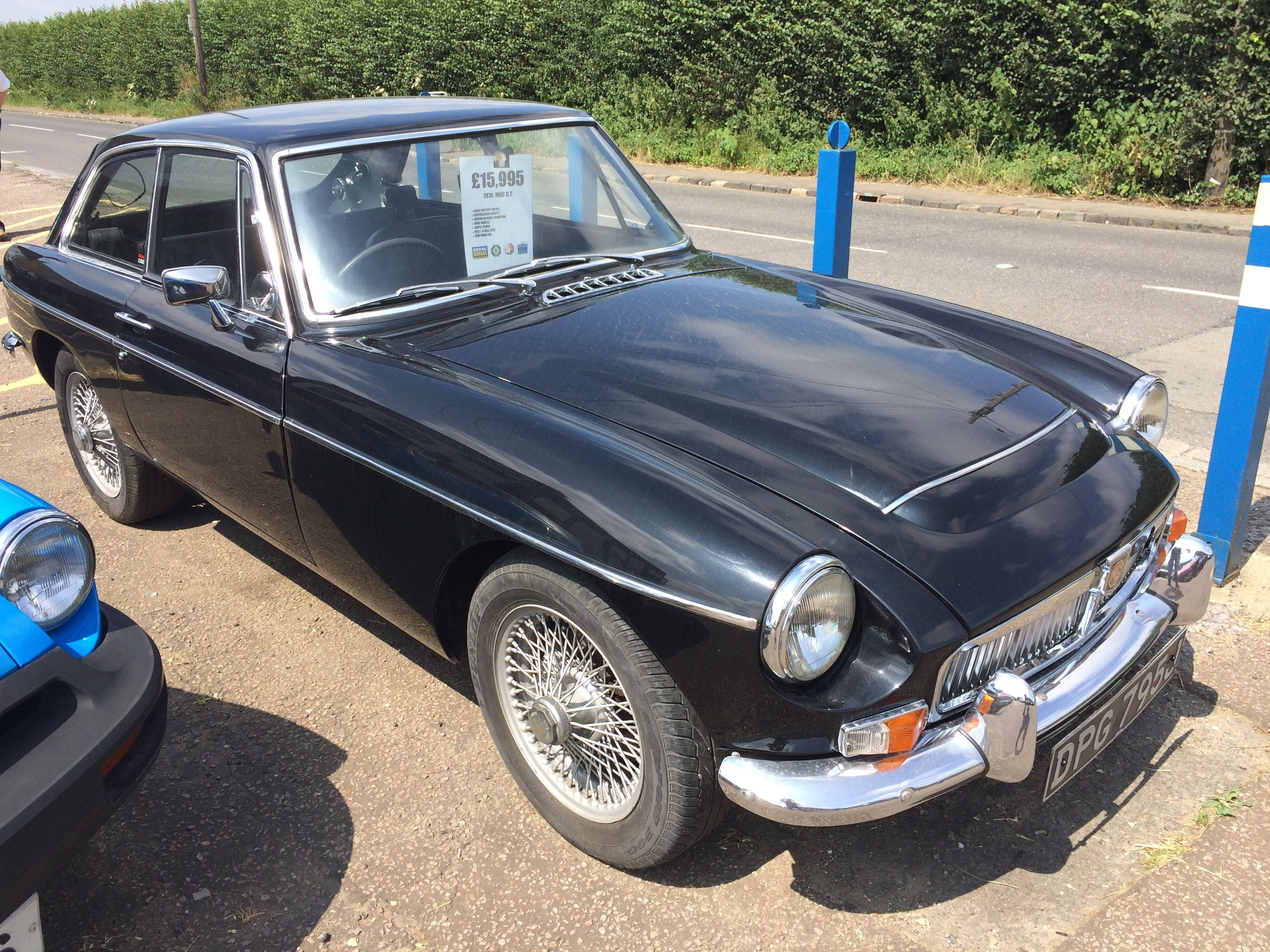 1970 MGC GT - Black Painted Wire Wheels, Large History File. £15,995 ...