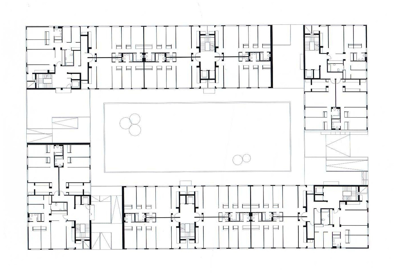 Aranguren Gallegos-Carabanchel Housing Complex, Madrid