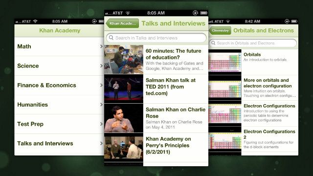 Khan Academy Comes to iPhone with Over 3,500 Educational