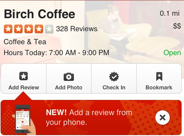 Yelp (for iPhone) Iphone, App, Phone
