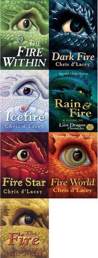 """""""The Last Dragon Chronicles"""" is a series of seven novels by Chris d'Lacey. Check it out!"""